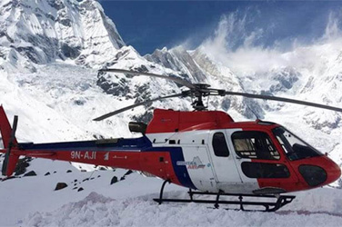 Annapurna Base Camp Helicopter Trek