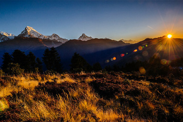 Annapurna Sunrise Trek with Hot Spring